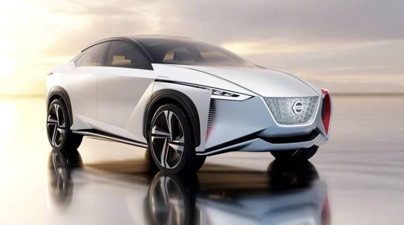 Nissan quiere vender un millón de eléctricos al año en 2022. Presentación del Nissan IMx, el crossover eléctrico y autónomo