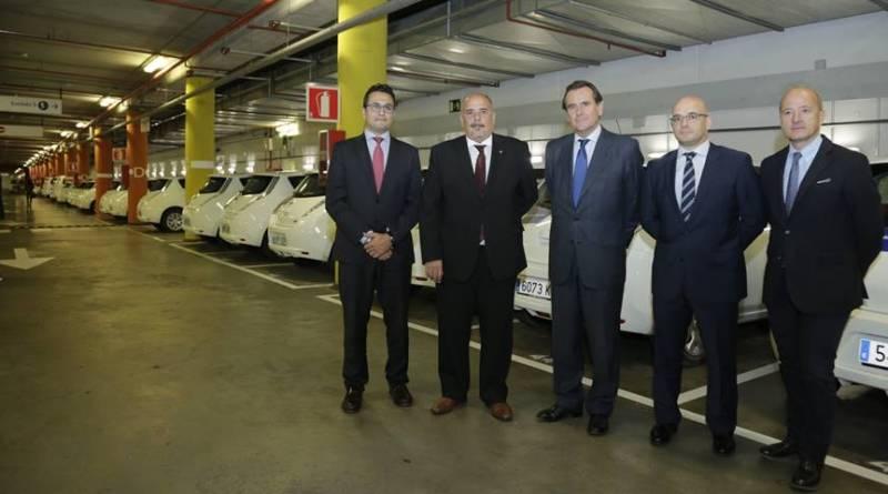 El Port de Barcelona ha incorporado 25 vehículos eléctricos Nissan a su flota