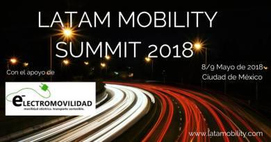 Latam Mobility Summit, definiendo la estrategia para una movilidad sostenible