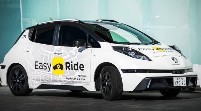 Nissan y DeNA pondrán en marcha un carsharing eléctrico y autónomo