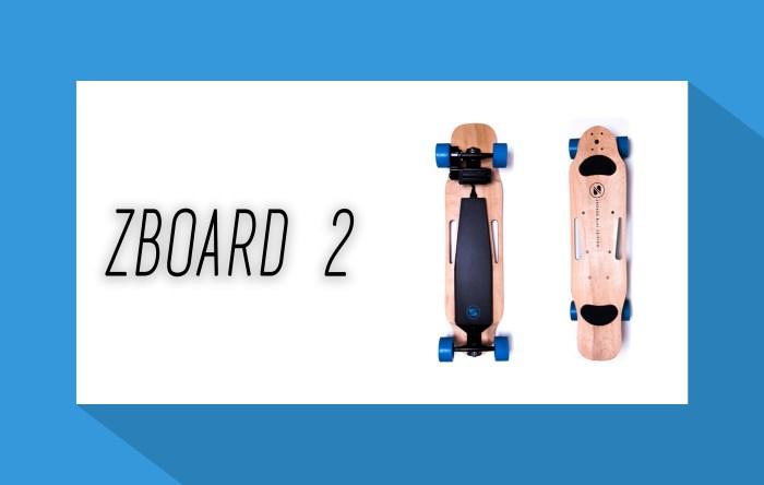 ZBoard 2 - Elektro Skateboard - elektrisches Skateboard - Elektro Skateboards - elektrische Skateboards - eboard - eskateboard
