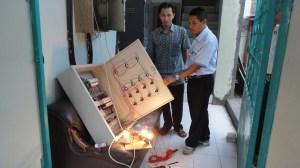 pengujian panel listrik produksi ukm teknik elektro unimus