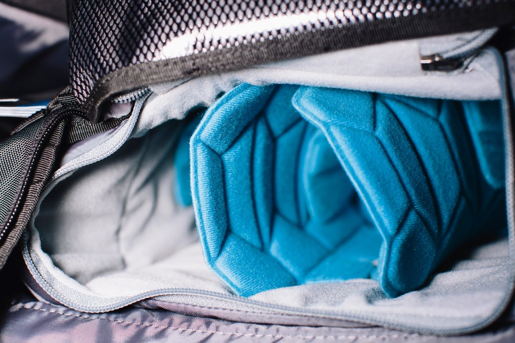 Nicely padded inserts for the camera compartment. Photo: Stephen Lam/element.ly