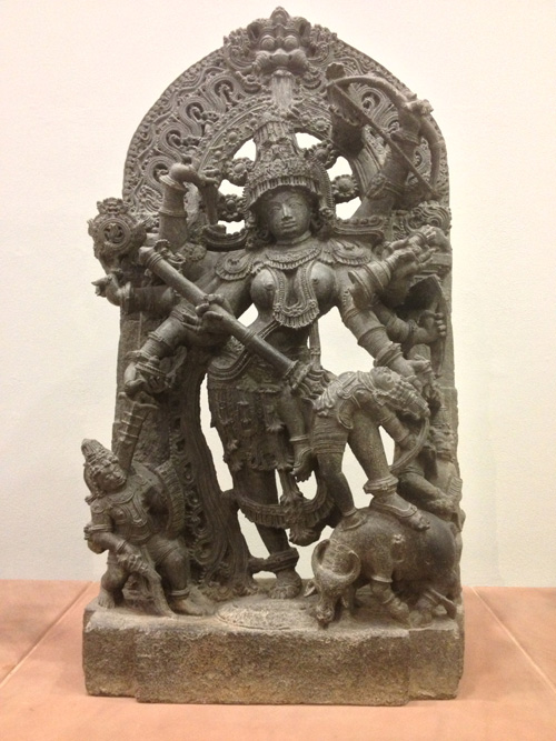 Durga as Mahisasuramardini