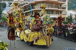 Nizza francia riviéra - Mandelieu, Fete du mimosa, mimóza ünnep