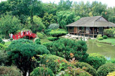 Toulouse lakóautóval - Jardin japonnais