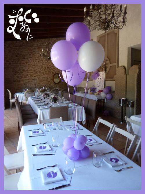 Decoraciones con globos de eleyce eleyce for Decoracion globos valencia