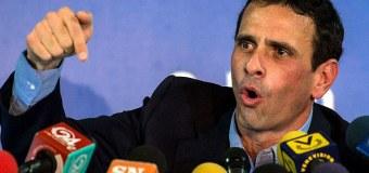 """¡POR EL PECHO! Capriles: """"Si el CNE no cumple los lapsos tendrá al pueblo en la CALLE"""""""