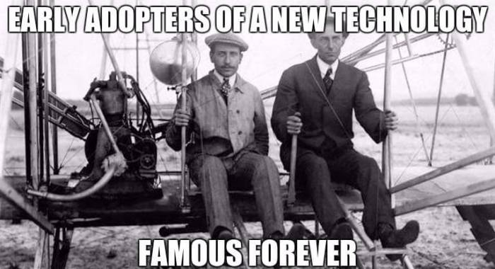Wright Brothers Early Adopters
