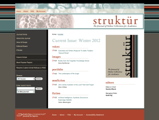 Struktür: The Journal of Online Collections for Academics