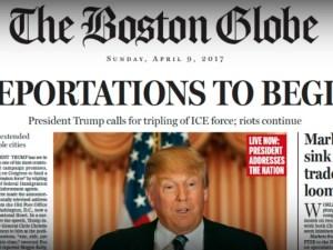 The Boston Globe , 9 de abril de 2017