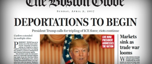 The Boston Globe , 9 de abril de 2017