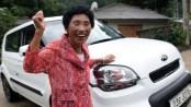 La abuela Cha recibió un premio consuelo: le regaló Hyundai-Kia un coche valuado en 16.800 dólares