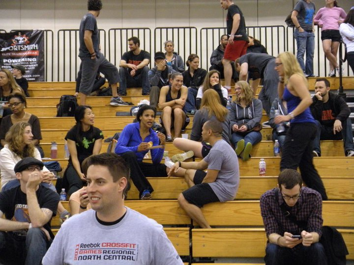 2011 Regionals.  Win an event, sit in the stand with an ice bag and some snacks.