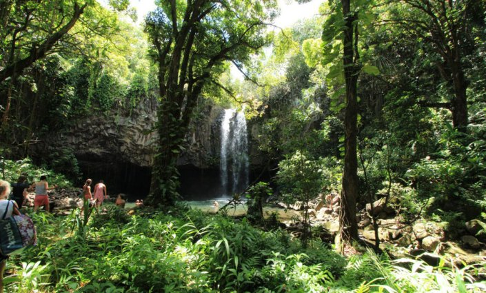 waterfall excursion at Lumeria Maui
