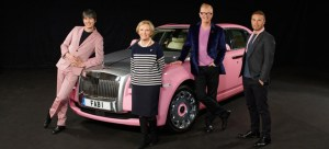 Rolls Royce Ghost Goes Pink for Breast Cancer Fundraiser