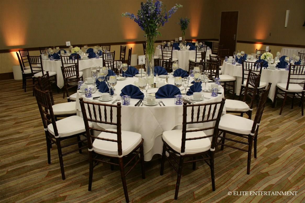napkins for wedding Blue