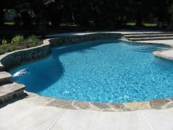 Fiberglass pool in Barrie, Ontario