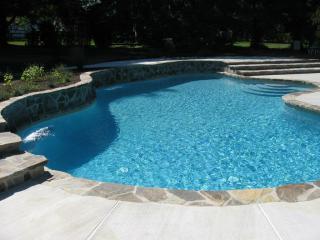 Fiberglass pool in Barrie, Ontario