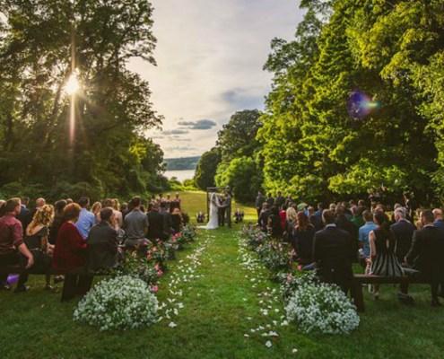 Mount Gulian wedding - Fall