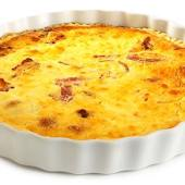 NICE wouldn't let you eat this lovely quiche