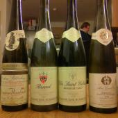 Four Alsace Grand Cru Rieslings