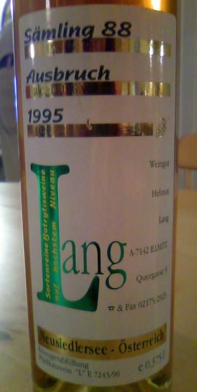 Samling 88 Ausbruch 1995, Helmut Lang