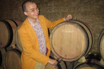 That barrel is mine! - Tasting at J-F Mugnier