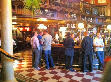 The bar at the Barrow Boy and Banker
