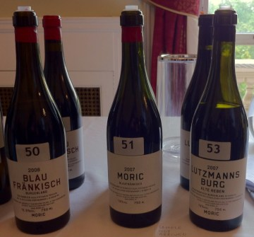 Moric - the best Blaufrankisch I've tasted