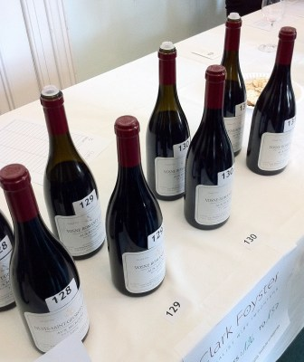 A selection of Sylvain Cathiard wines