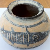 A little vase from the Indus Valley