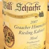 Riesling Kabinett Graacher Himmelreich 2007, Willi Schaefer