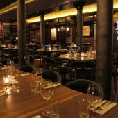 Hawksmoor Seven Dials dining room