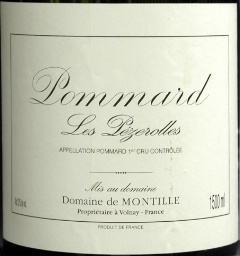 Pommard Premier Cru les Pezerolles, de Montille