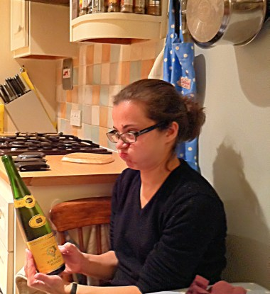 Katie has the correct view of Hugel wines