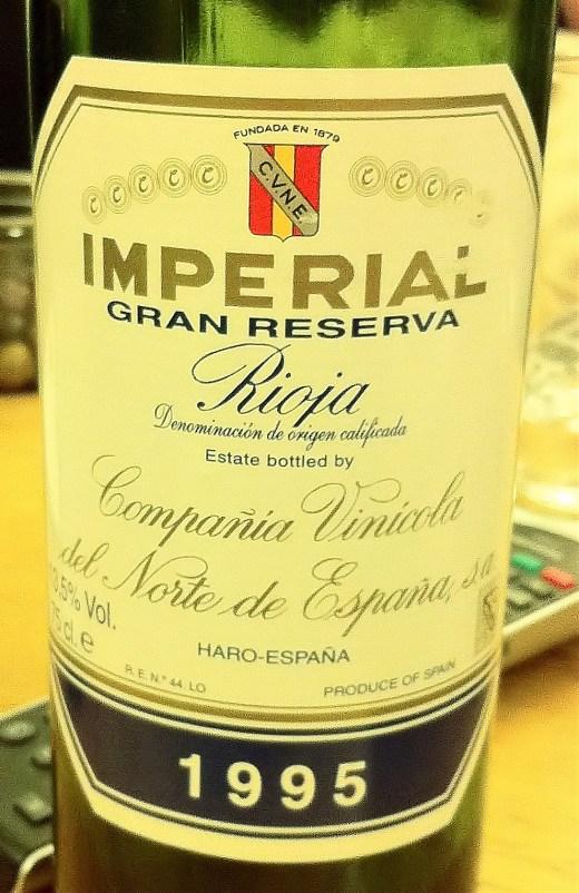 Rioja Imperial Gran Reserva 1995, Compania Vinicola del Norte de Espana