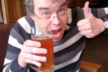 David is enthusiastic about cask-conditioned Meantime IPA