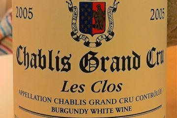 Chablis Grand Cru les Clos 2005, Jean-Paul and Benoit Droin