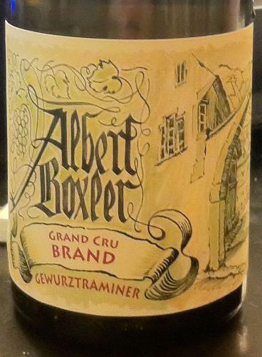 Gewurztraminer Grand Cru Brand 2008, Domaine Albert Boxler