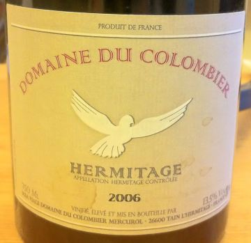 White Hermitage 2006, Domaine du Colombier