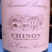 Chinon La Croix Boissee 2007 by Bernard Baudry