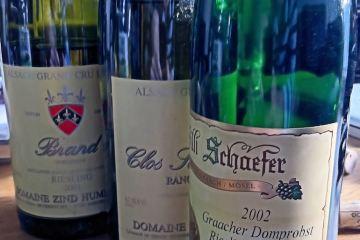 Riesling Spatlese Graacher Domprobst 2002, Willi Schaefer