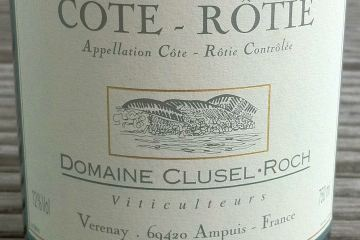 Cote-Rotie 2001, Clusel-Roch