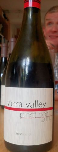 Yarra Valley Pinot Noir 2010 from Mac Forbes