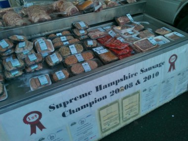 Supreme sausages!