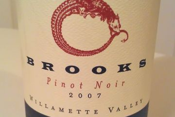 Brooks Janus Pinot Noir 2007 - it&#039;s scrummy!