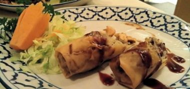 Duck rolls - made with top quality duck meat