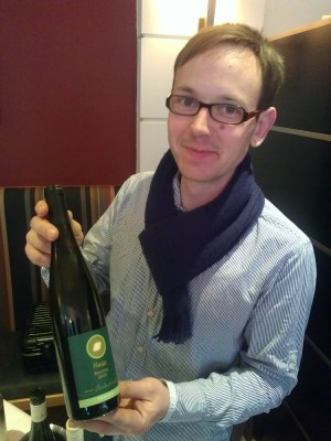 Lovely Jorn Goziewski with Hase Riesling