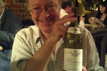Simon Taylor with Balthazar Cornas 2001